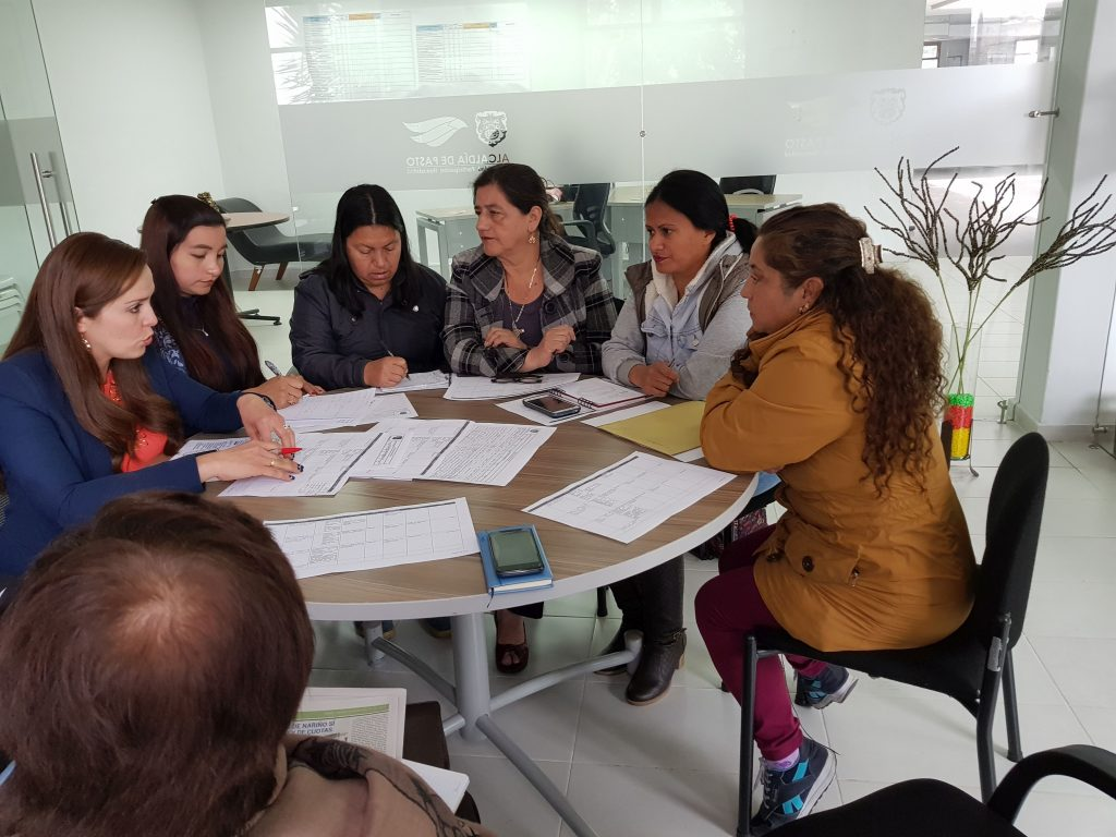 FUNDEPAZ PROVIDES ACCOMPANIANCE TO THE MUNICIPAL COMMITTEE TO FOLLOW UP OF THE IMPLEMENTATION OF LAW 1257 OF 2008